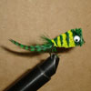 Bass Hair Bug Green/Yellow