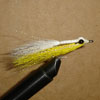 Clouser Shallow Yellow/White