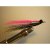Clouser Shallow Black/Pink w/flash