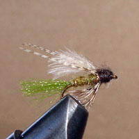 Emerger, Caddis CDC Olive