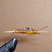 Stonefly Golden Rubberleg