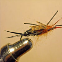 Stonefly Black/Brown Rubberleg