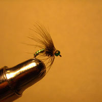 Soft Hackle Jody's Jade Gem