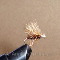 Caddis Elk Hair Peacock