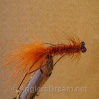 Lamar's Lead Eye Wooly Bugger Brown Rubberlegs